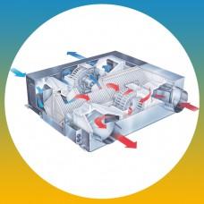 Утилизация тепла вентилируемого воздуха