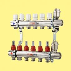 Монтаж коллекторных систем отопления